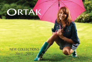 NEW COLLECTIONS 2011 - 2012 - Ortak
