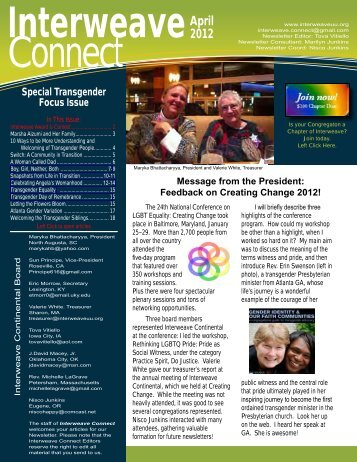 April 2012 - Unitarian Universalist Congregation of Lake County