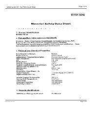 MSDS for #61737 - GLITTER GLUE PENS - Dick Blick