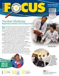 Nuclear Medicine - Washington Hospital Center