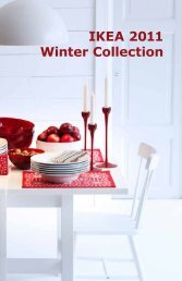 IKEA 2011 Winter Collection
