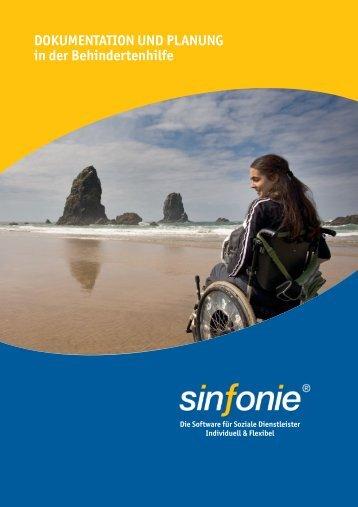 Sinfonie in der Behindertenhilfe: Dokumentation und Planung