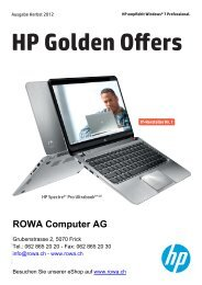 HP Golden Offers - MIT network ag