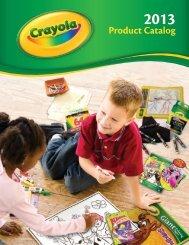 Product Catalog Product Catalog - Crayola