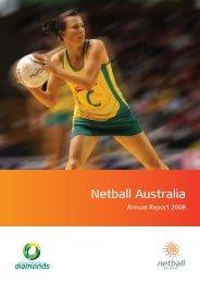 2008 Annual Report - Netball Australia