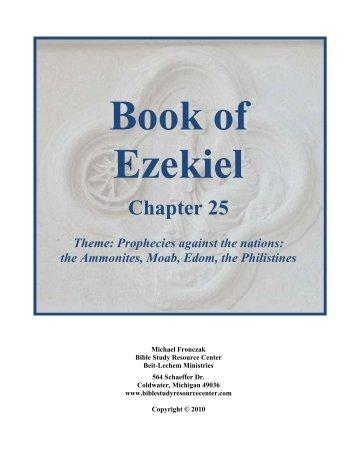 Book of ezekiel bible study