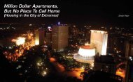 Million Dollar Apartments, But No - Urban Design Research Institute