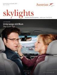 Skylights May - June 2013