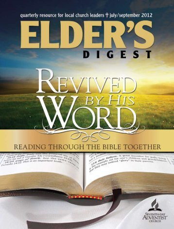 3rd Quarter 2012 - Elder's Digest