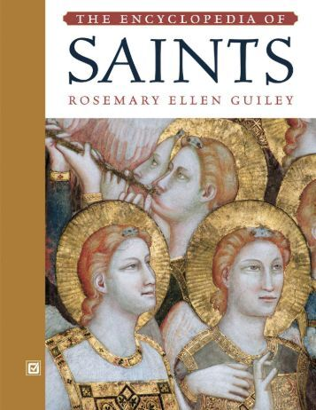 Encyclopedia Of Saints - For Meeting times and location please see ...