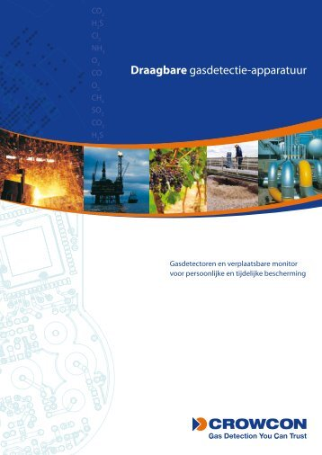 Draagbare gasdetectie-apparatuur - Crowcon Detection Instruments