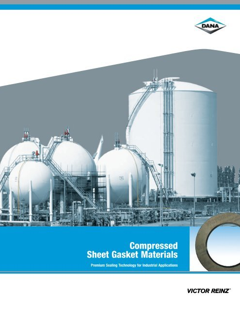 Compressed Sheet Gasket Materials
