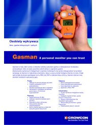 Karta katalogowa Gasman - Somet