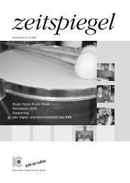 Ausgabe Nr. 2/2009 - Regionales Pflegezentrum Baden