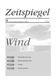 Ausgabe Nr. 3/2005 - Regionales Pflegezentrum Baden