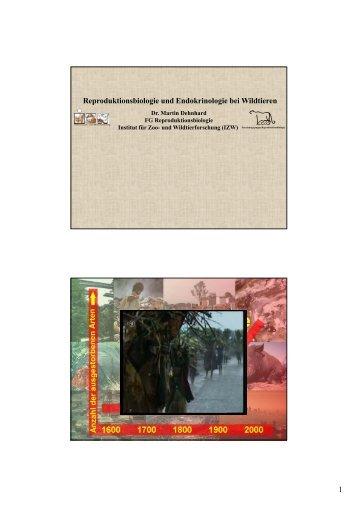 Multifaktorielle Ursachen des weltweiten Artensterbens