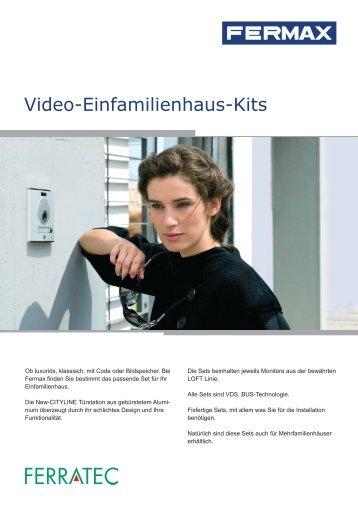 Video-Einfamilienhaus-Kits - Ferratec AG