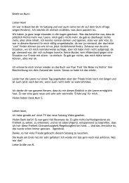 Briefe an Muni: Lieber Muni Ich war in Basel bei dir im Satsang und ...