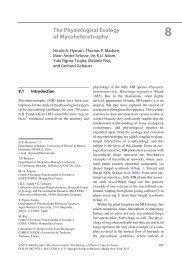 The Physiological Ecology of Mycoheterotrophy - University of Hawaii