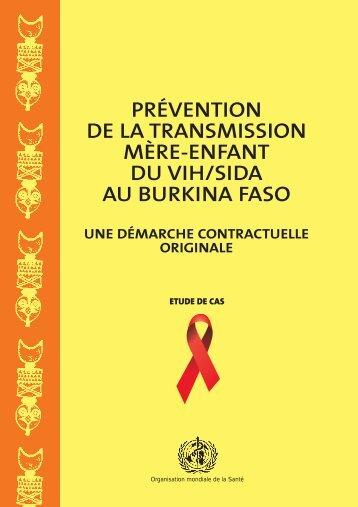 Prévention de la transmission mère-enfant du VIH - libdoc.who.int ...