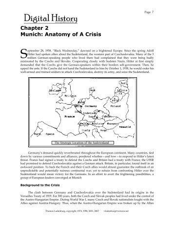 Chapter 2 Munich Anatomy Of A Crisis Digital History