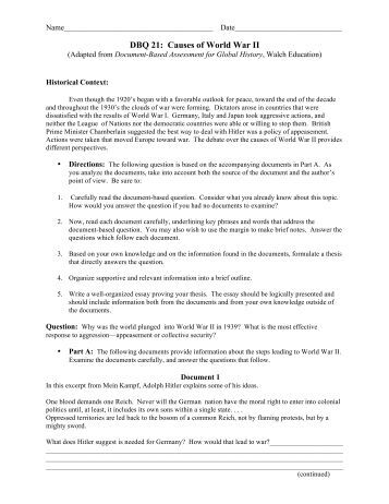 Printables Causes Of World War 1 Worksheet causes of world war i worksheet answers intrepidpath wwi main war