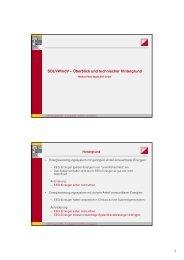 Vortrag von Herrn Dr.-Ing. Markus Pöller - Clearingstelle EEG