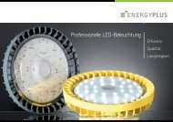 Professionelle LED-Beleuchtung