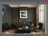 Der Pflanzenkünstler Nicolas Le Beuan | Mireille Roobaert / Hemis