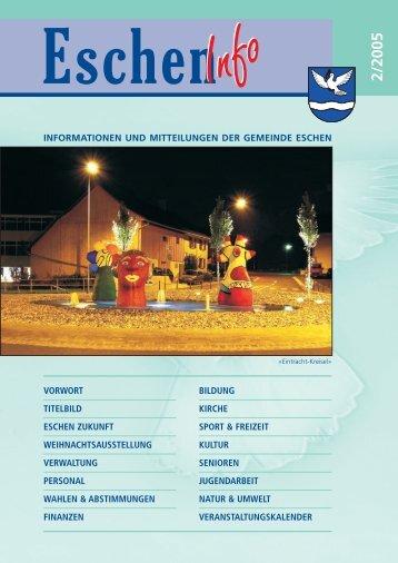 Eschen Info 2005/2