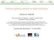 Mireille El Gheche - Université Paris-Est
