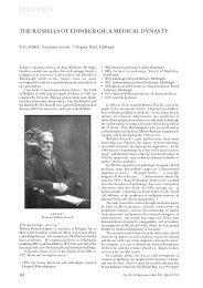 HISTORY - Royal College of Physicians of Edinburgh