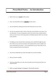 Poetry - How to Write the Essay - Focus on Larkin - Aoife's Notes