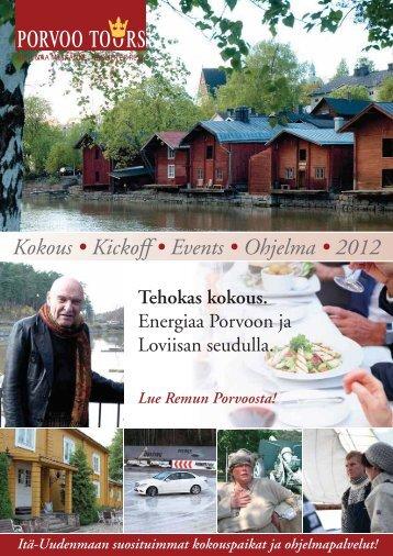 Energiaa Porvoon ja Loviisan seudulla. - Porvoo Tours