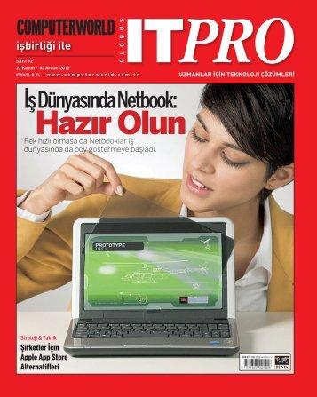 İş Dünyasında Netbook: - Computerworld