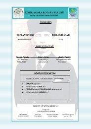 26.03.2013 DÖRTLÜ ÖZDENETİM - Rotary 2440.Bölge