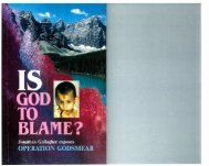 Is God To Blame.pdf - Free Bible Ministry
