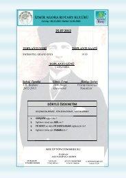 25.07.2012 DÖRTLÜ ÖZDENETİM - Rotary 2440.Bölge