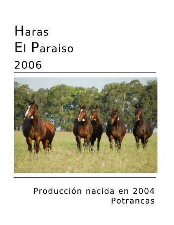 Carreras de las Estrellas - Haras El Paraíso
