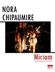 Miriam Full Press Kit 12.12 - MAPP International Productions