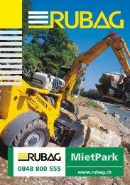 MietPark - RUBAG Rollmaterial und Baumaschinen AG