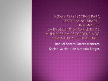 Raquel Santos Soares Menezes Karine Mirielle de ... - CRA-RJ