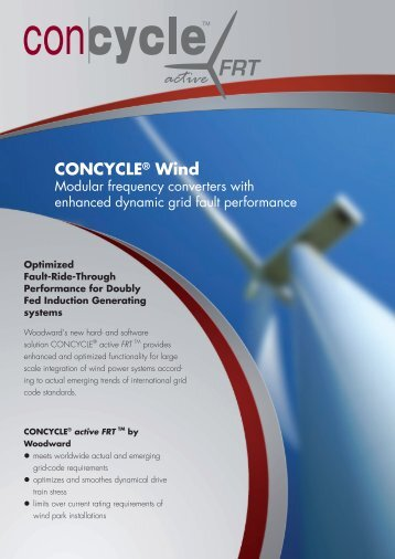 CONCYCLE® Wind - Woodward