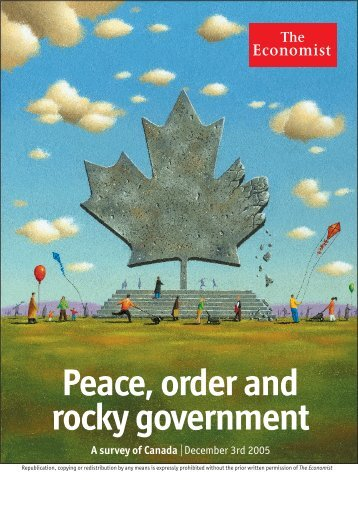 Peace, order and rocky government