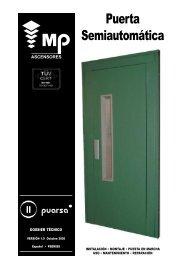 Puerta Semiautomática