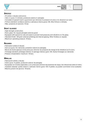 SPECOLE J Di solida e robusta costruzione. J Vetro in pyrex. A ...