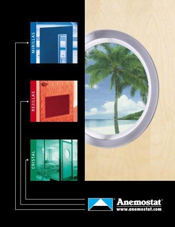 Catálogo de Producto - Anemostat