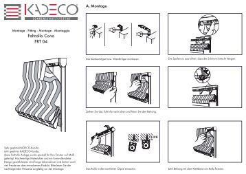 faltrollo clipp frt 03 kadeco. Black Bedroom Furniture Sets. Home Design Ideas