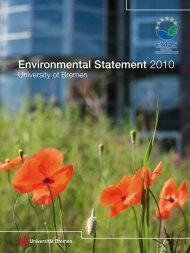 Environmental Statement 2010 - Ums Uni Bremen