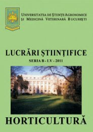 landscape architecture - Facultatea de Horticultura
